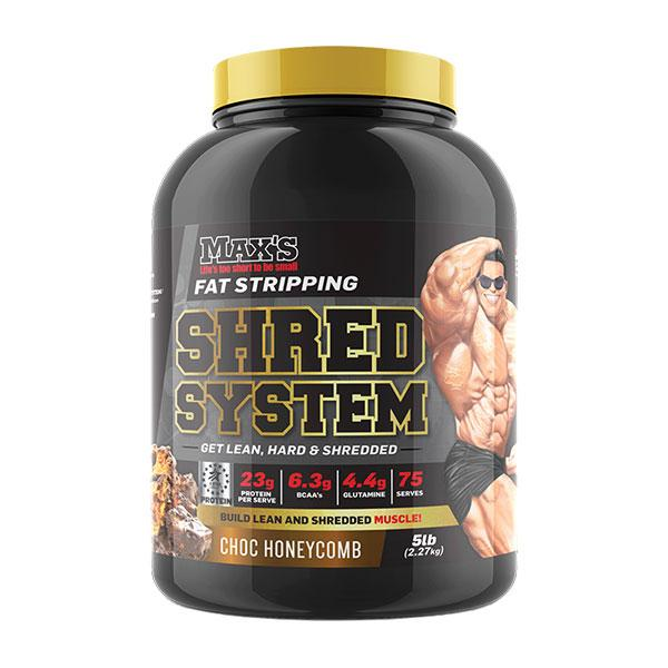 Shred System - MAX's | 75 Serves | Chocolate Honeycomb