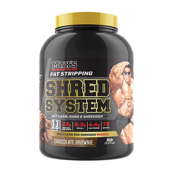 Shred System - MAX's | 75 Serves | Chocolate Brownie