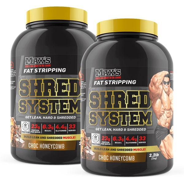 Shred System Twin Pack - MAX's | Fat Burnerz