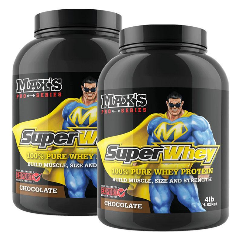 Super Whey Twin Pack - MAX's | Fat Burnerz