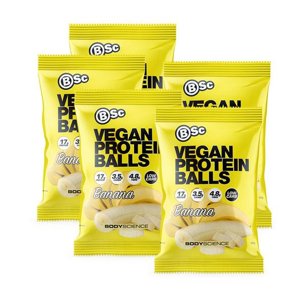 Vegan Protein Ball 5 Pack - BSc | Fat Burnerz