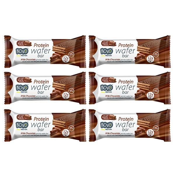 Wafer Bar 6 Pack - Novo Nutrition | Fat Burnerz
