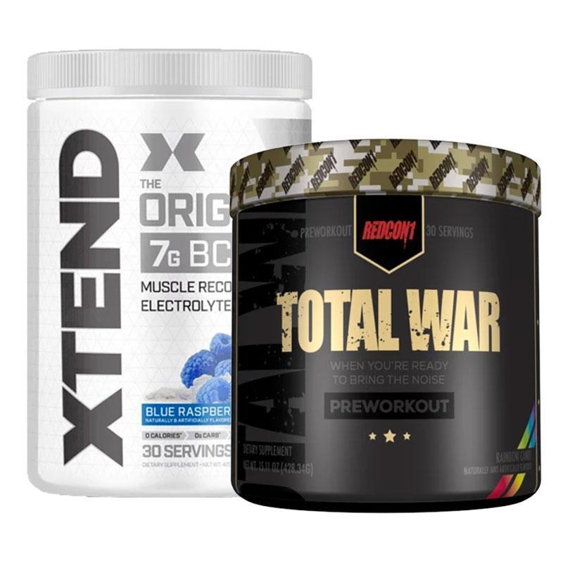 Xtend BCAAs + Total War Bundle