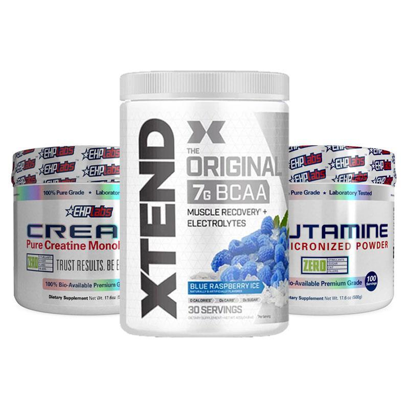Xtend + Crea-8 + Glutamine Bundle | Fat Burnerz