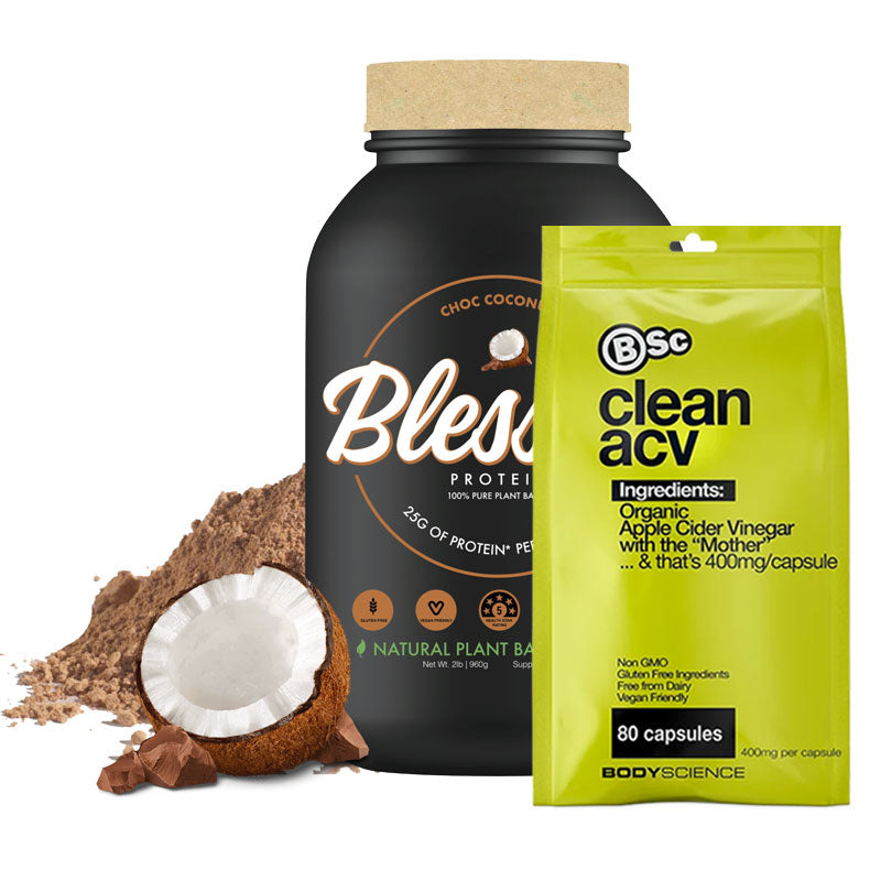 Blessed Protein + Clean ACV Bundle