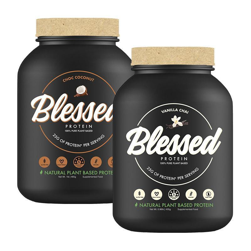 Twin Pack: Blessed Protein by Clear Vegan