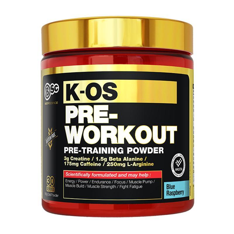 K-OS Pre-Workout by BSc