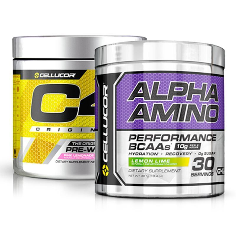 C4 Original Pre-Workout + C4 Alpha Amino BCAA Bundle
