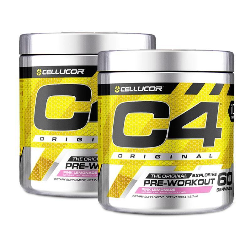 Twin Pack: C4 Original Pre-Workout (60 serves) by Cellucor