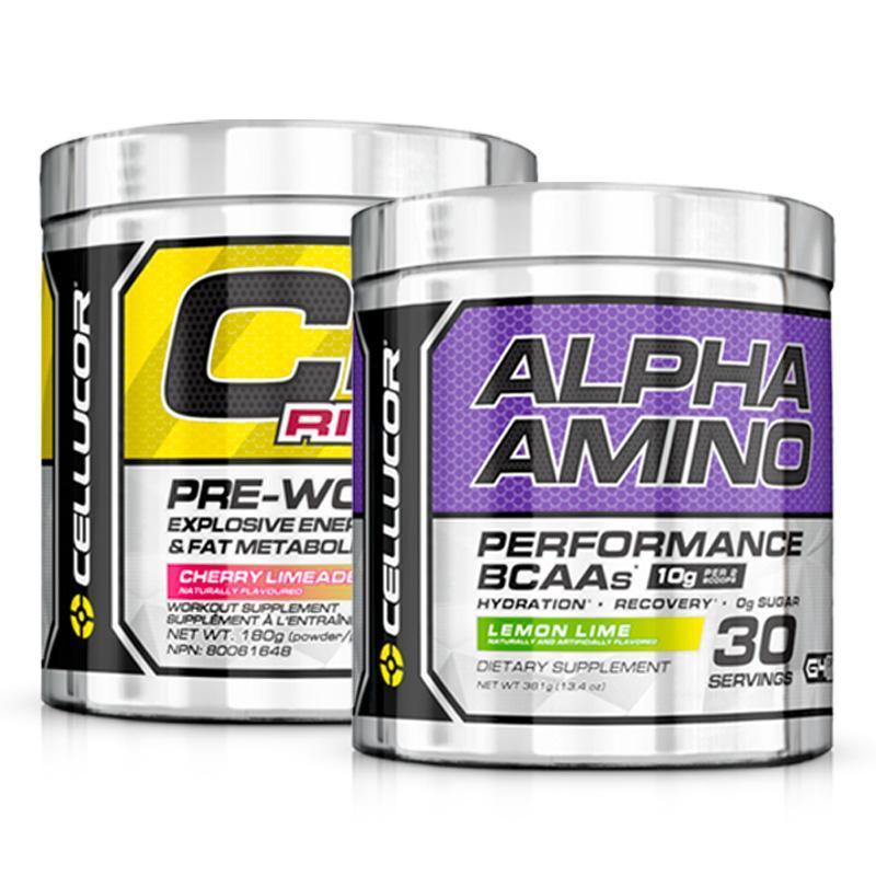 C4 Ripped + C4 Alpha Amino BCAA Bundle - Cellucor | MAK Fitness