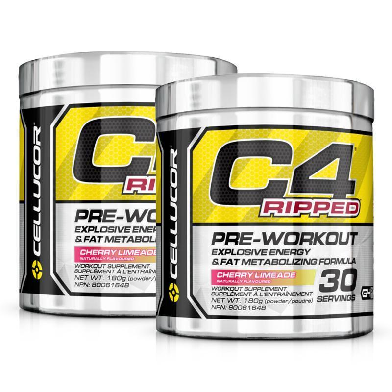 C4 Ripped Twin Pack - Cellucor | Fat Burnerz