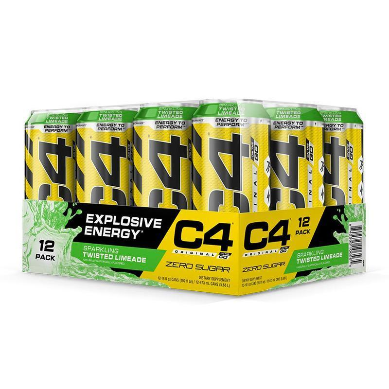 C4 Original Carbonated (12 Pack) - Cellucor | Twisted Limeade