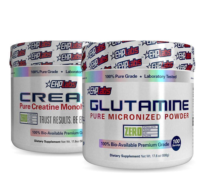 Glutamine + Crea8 | Fat Burnerz
