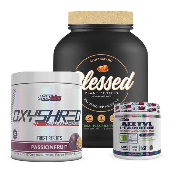 Blessed Protein + OxyShred + Acetyl L-Carnitine Bundle