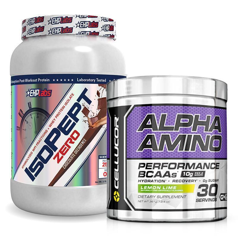 IsoPept Zero + C4 Alpha Amino BCAA Bundle | Fat Burnerz