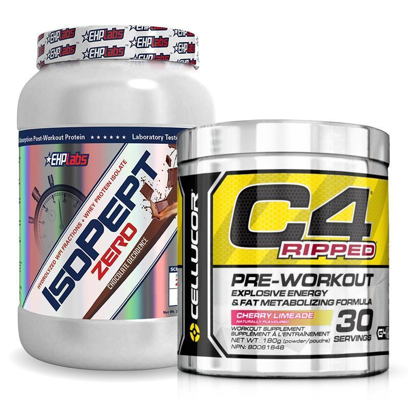 IsoPept Zero + C4 Ripped Bundle | MAK Fitness
