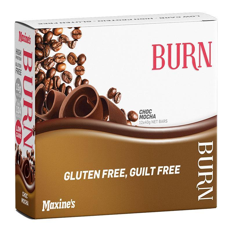Burn Bar Box of 12 - Maxine's | Choc Mocha