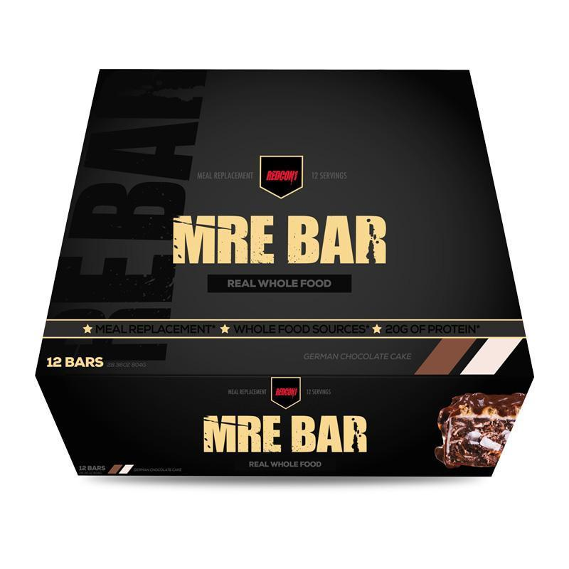 MRE Bar (Box of 12) - RedCon1 | German Chocolate Cake