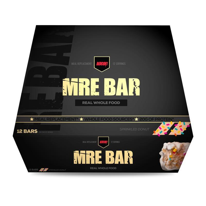 MRE Bar (Box of 12) - RedCon1 | Sprinkled Donut