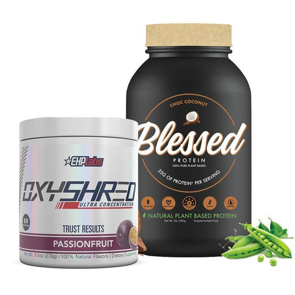 Blessed Protein + OxyShred Bundle
