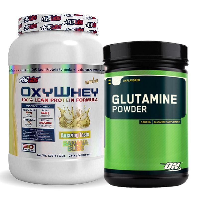 OxyWhey + Glutamine Bundle | Fat Burner
