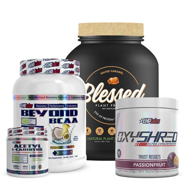 Blessed Protein + Beyond BCAA + OxyShred + Acetyl L-Carnitine