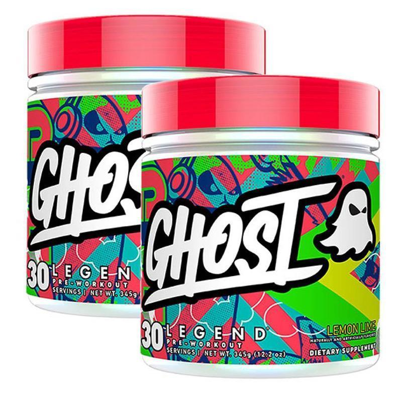 GHOST® Legend (30 servings each) Twin Pack - Ghost Lifestyle | Fat Burnerz