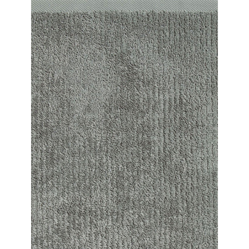 GREY RIBBED TOWEL