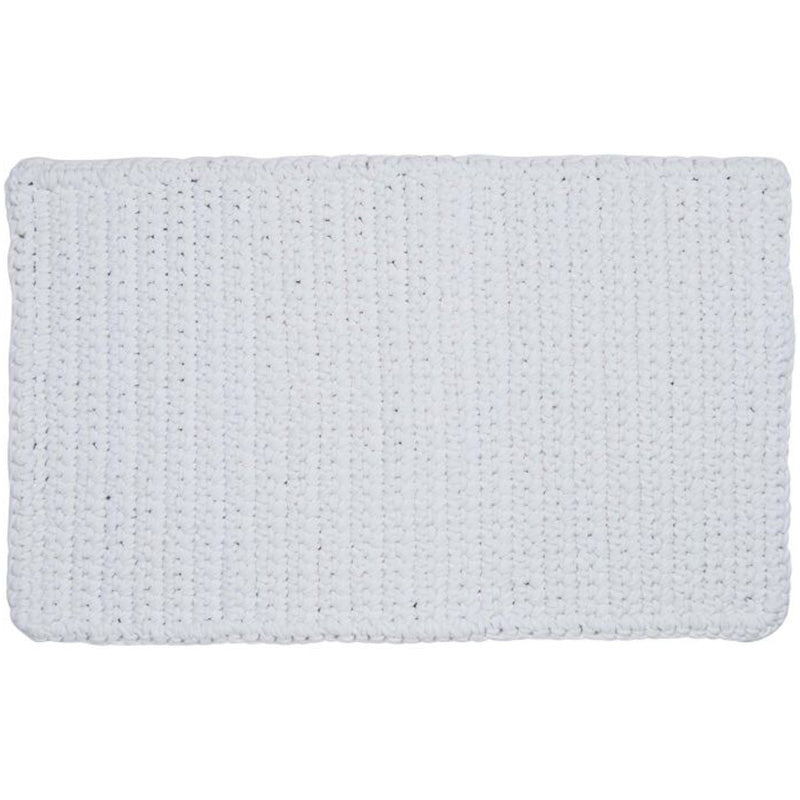 COTTON CROCHET BATH MAT