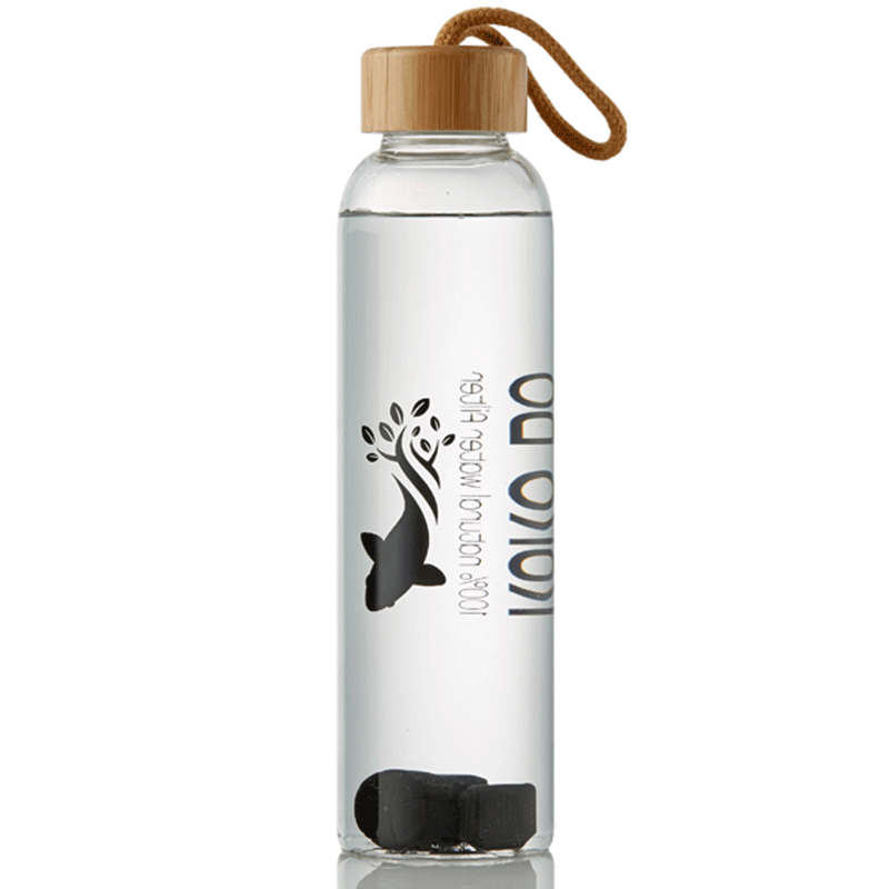 KURO-BŌ GLASS WATER BOTTLE