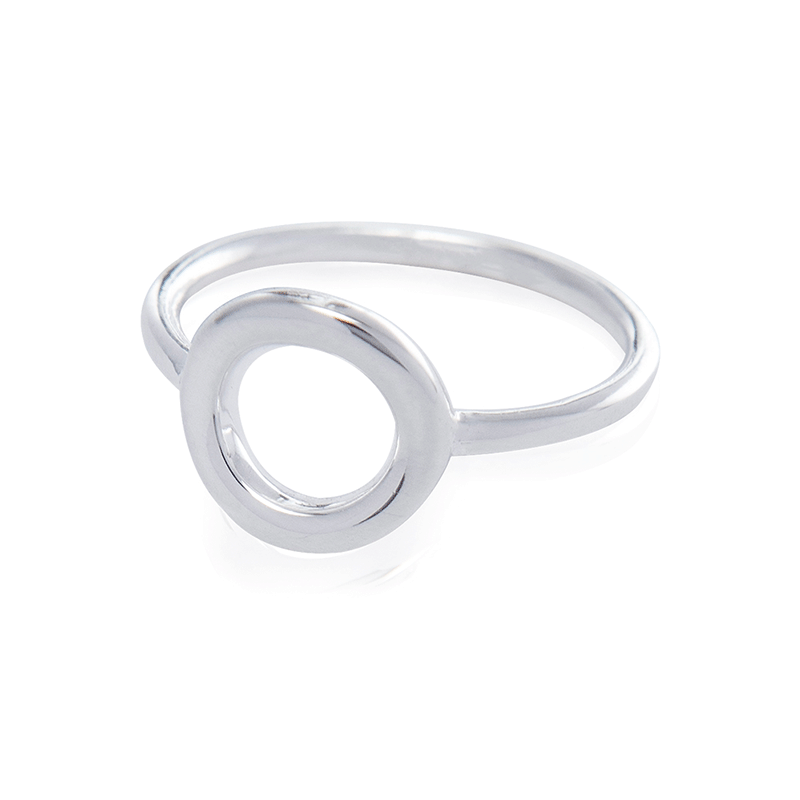 HOLLOW CIRCLE RING