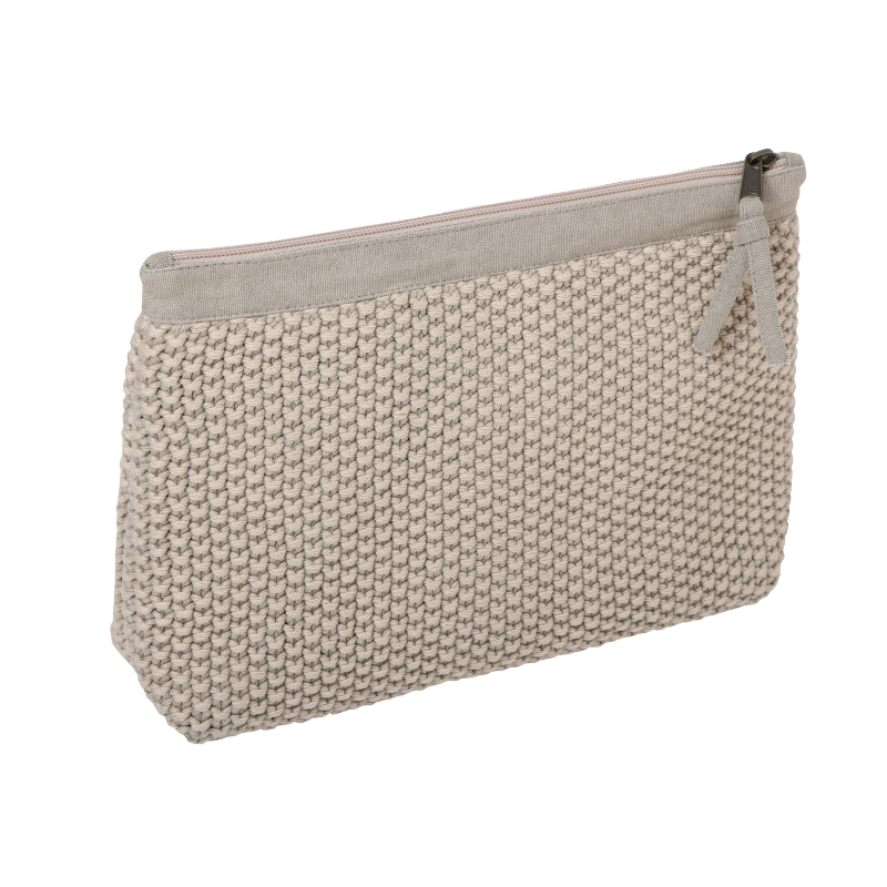 KNITTED CLUTCH BAG