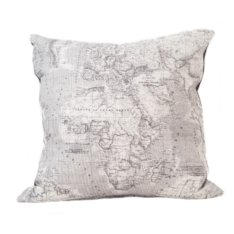 AFRICA MAP SCATTER CUSHION COVER