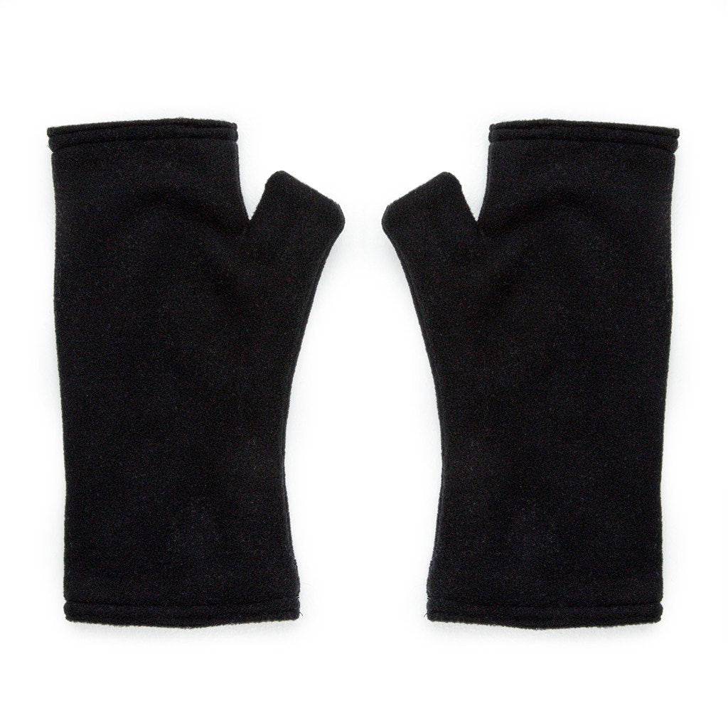 REVERSIBLE THICK FLEECE MITTENS