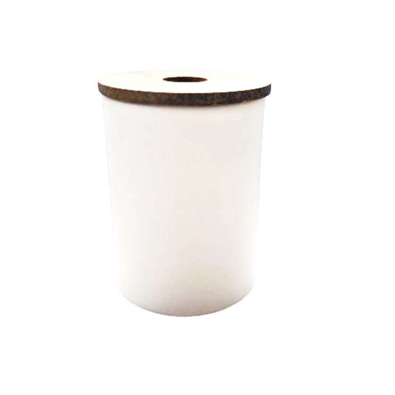 CERAMIC DIFFUSER JAR WITH BAMBOO LID
