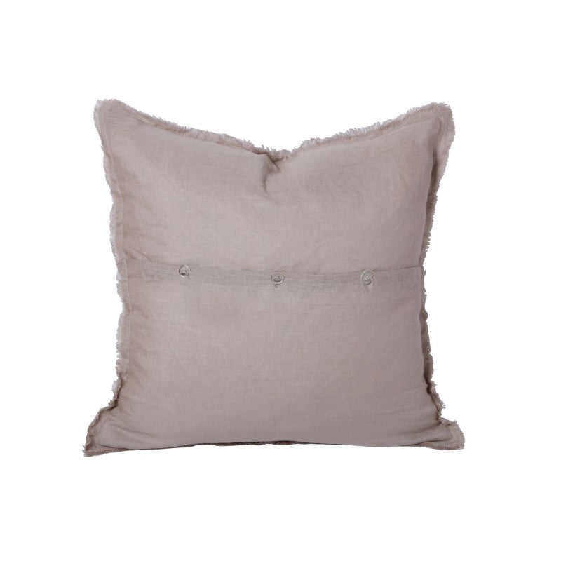NATURAL LINEN SCATTER CUSHION