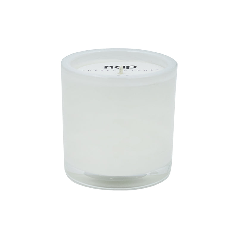 WHITE OUDH LUXURY GLASS CANDLE