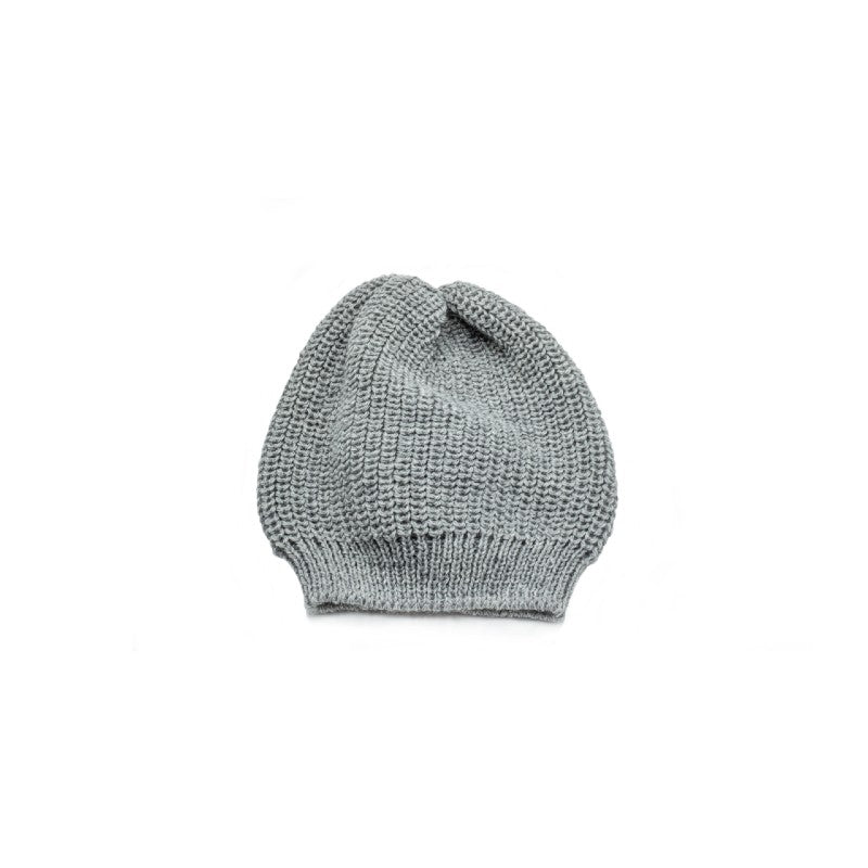 FISHERMANS RIB KNIT BEANIE