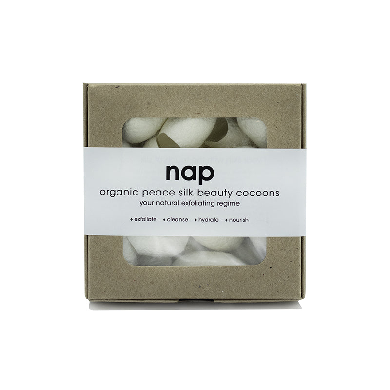 nap ORGANIC SILK BEAUTY COCOONS