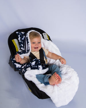 Brock the first multi functional baby blanket