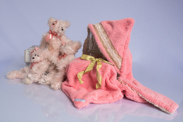Aubrey the first multi functional baby blanket