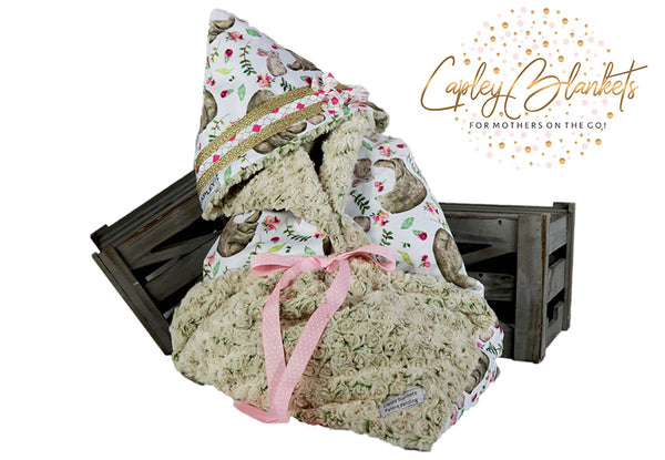Honey the first multi functional baby blanket