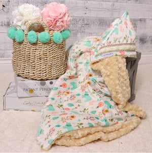 Emory the first multi functional baby blanket