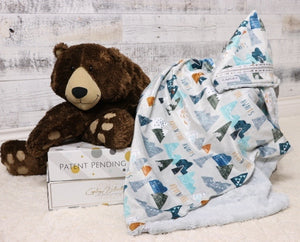 Grant the first multi functional baby blanket