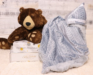 Kennedy the first multi functional baby blanket