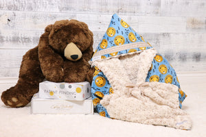 Rigley the first multi functional baby blanket