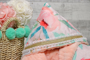 Lexi the first multi functional baby blanket
