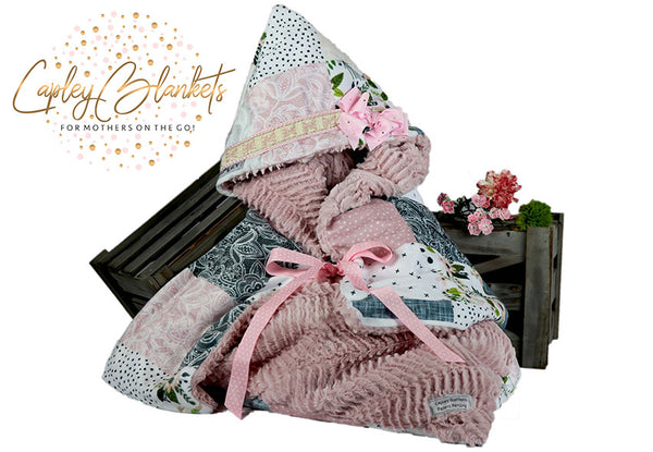 Blakely the first multi functional baby blanket