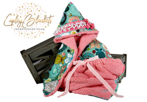 Chloe the first multi functional baby blanket