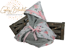Blake the first multi functional baby blanket